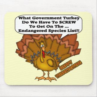 Mousepad - Turkey Endangered Species