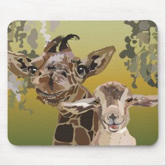 mousepad Two Good Buddies, Okonewa & Fred