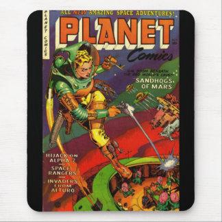Mousepad Vintage Comic Book Covers Mousepads