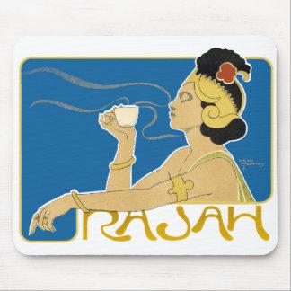 Mousepad: Vintage Rajah Coffee