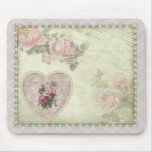 Mousepad  -  Vintage Rose
