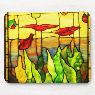 Mousepad-Vintage Stained Glass Art-23 Mouse Pad
