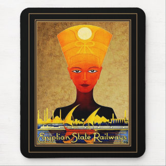 Mousepad Vintage Travel Egyptian State Railways Mouse Pads