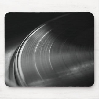MousePad: Vinyl Record and Turntable Mouse Pad
