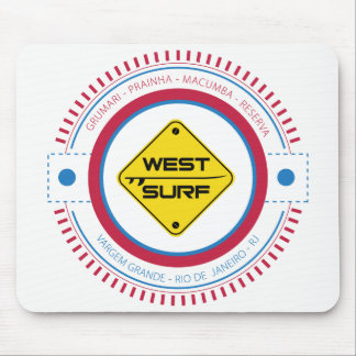 Mousepad West Surf XII