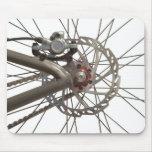 Mousepad with Bike Wheel Hub
