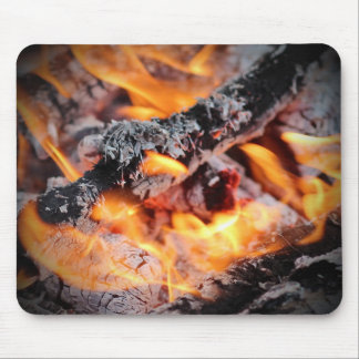 Mousepad with Bonfire