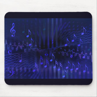 Mousepad with Digital Art Image - Concert Hall