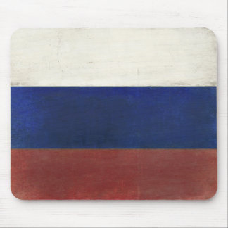 Mousepad with Dirty Vintage Flag from Russia