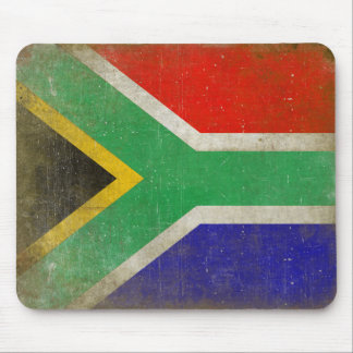 Mousepad with Flag from South Africa