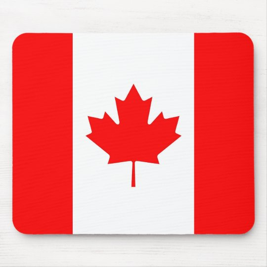 Mousepad with Flag of Canada