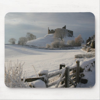 Mousepad with Hume Castle in winter
