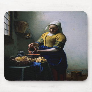 Mousepad With Johannes Vermeer Painting