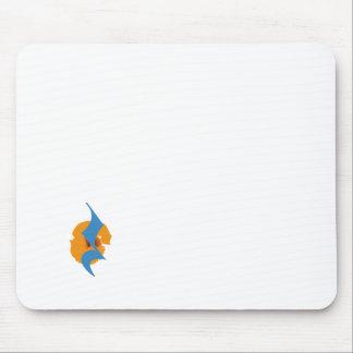 mousepad with print - quarter kwarttel rests