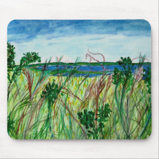 Mousepad with Seascape Art