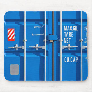 Mousepad with Transport Container