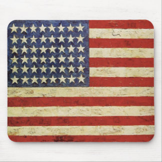 Mousepad with Vintage American Flag
