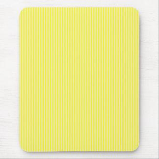 Mousepad - Yellow & Buttermilk Cream stripes