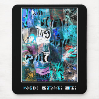 Mousepad Zizzago Street Art Abstract Urban Grunge