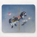 Mousepads - Grey Mare Carousel Horse