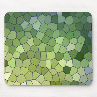 Mousepads with bright colorful repeat patterns