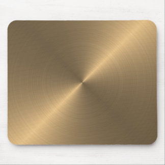 Mousepads with golden metallic texture