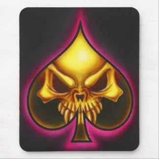 mouses pan skull mouse pad