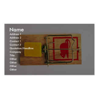 Mousetrap Business Card Templates