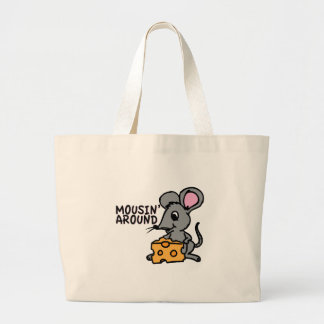 Mousin Around Tote Bags