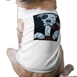 Mousolini godfather sleeveless dog shirt