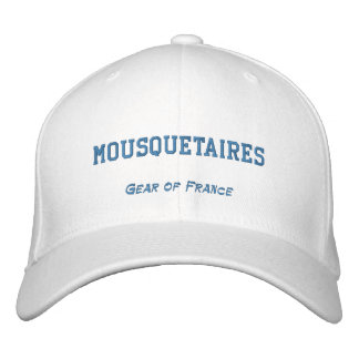 MOUSQUETAIRES, Gear of France Embroidered Cap