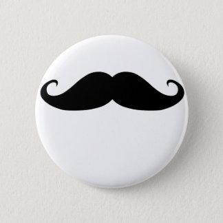 Moustache! 6 Cm Round Badge