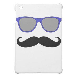 Moustache and Blue Sunglasses Humour iPad Mini Covers