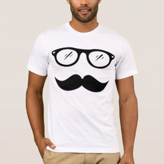 Moustache and Glasses T-shirt