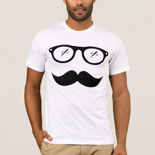 Moustache and Glasses T-shirt