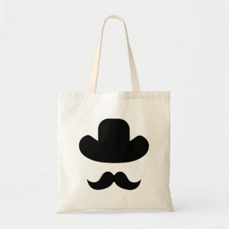 Moustache and hat