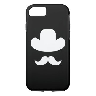 Moustache and hat iPhone 8/7 case