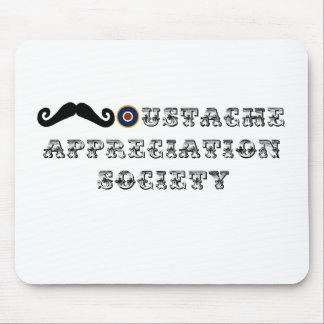 Moustache Appreciation Society Vintage Mouse Pad