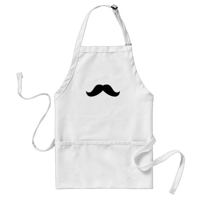 Moustache Apron