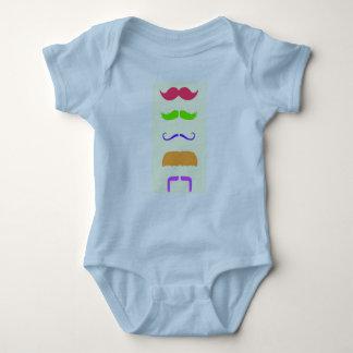 Moustache Baby Vest Baby Bodysuit