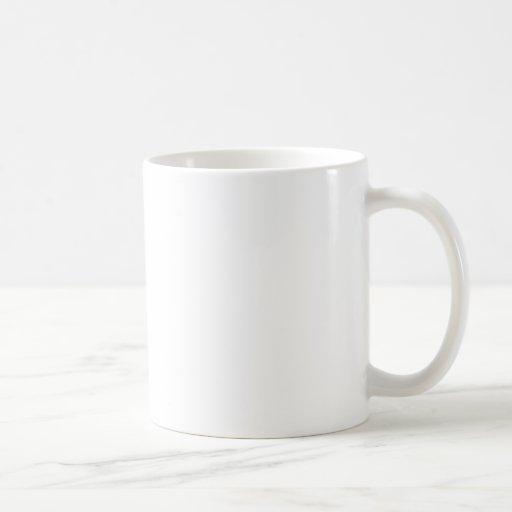 Moustache Basic White Mug