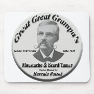 Moustache & Beard Tamer- Mouse pad