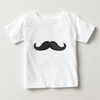 Moustache - Black Baby T-Shirt