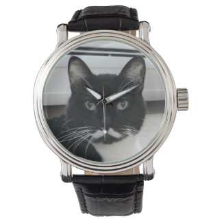 Moustache Cat Watch