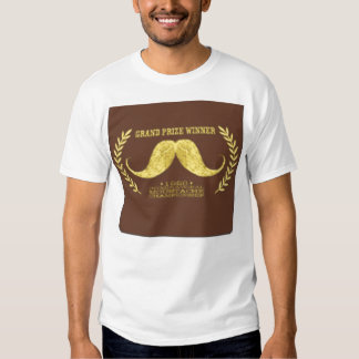 Moustache Champ T Shirts