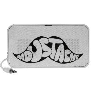 Moustache Clothing Laptop Speaker