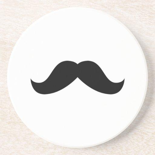 Moustache Coaster