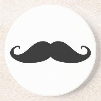Moustache coasters