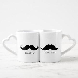 Moustache Custom Lover's Mug
