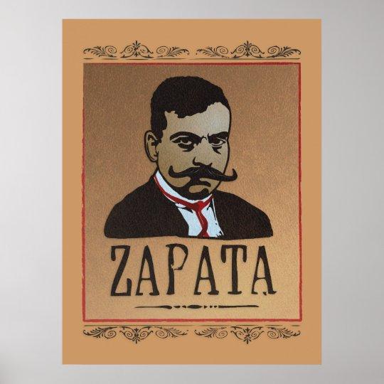 Moustache - Emiliano Zapata Poster